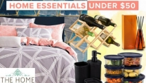 Spruce Up Your Home with these Must-Have Home Essentials - All Under $50! Shop Quilt Covers, Mug Sets, Diffusers, Organisers & More. Plus P&H