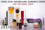 We Can Never Have Enough Beauty Products Right! Shop this Cosmetics & Skincare Sale w/ 700+ Items @ Exclusive Prices! Revlon, L'Oreal & Lots More