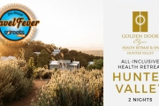 HUNTER VALLEY Rejuvenate w/ a 2-Night Escape to Serene Golden Door Health Retreat Elysia. Incl. All Meals, Resort Credits, Tai Chi, Pilates & More