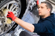 Get a Squeaky Clean Ride w/ a Premium Detailed Car Wash from Workers Water Wash! Ft. Standard Wash + Premium Exterior Hand-Wash w/ Wax, Vacuum & More