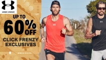Pick Up the Pace with Your Work Out w/ Up To 60% Off Under Armour Click Frenzy Exclusives! Shop Men's, Women's & Kids' Footwear, Tops, Bottoms & More!