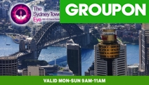 Be Treated to Spectacular Views of the City w/ Entry to Sydney's Tallest Building! Ft. 2-For-1 Tix for 2 Children or 2 Adults. Avail Mon to Sun 9-11am
