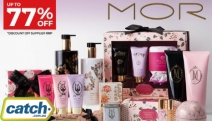 Indulge in a Lush Sensory Journey w/ Up to 77% Off the New Range from MOR Boutique! Shop Body Scrubs, Hand Creams, Gift Sets, Perfume Oils & More