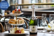 Dine Like Royalty with an Indulgent High Tea Experience + Sparkling Wine @ Cicchetti Restaurant & Wine Bar! Located on the Top Floor of the QVB