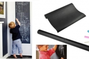 School's in with a Removable Blackboard Wall Sticker! Cut into Any Shape & Size. Great for the Home, Office or Kids Room. Plus P&H