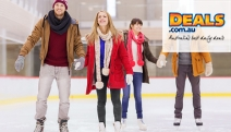 Cool Off w/ an Ice Skating Session @ the Liverpool Catholic Club Sports Complex! Upgrade for Fri or Sat Night Disco Session or Family Pass