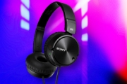 Kick Back w/ Your Fave Tunes w/ the Sony Noise-Cancelling Headphones! Up to 95% Reduction in Ambient Noise w/ Over Ear Design & Foldable Headband