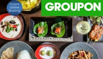 Tantalise Your Taste Buds w/ a Deluxe Thai Banquet for 2 @ Wild Ginger Dining Bar! Think Chili Basil Chicken, Massaman Beef, Coconut Ice Cream & More