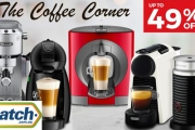 Get Your Caffeine Hit without Leaving the House w/ Up to 49% Off this Collection of Coffee Machines! Shop Nescafe Dolce Gusto, DéLonghi & More