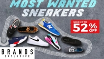 Rock a New Pair of Cool Kicks with Up to 52% Off Most Wanted Sneakers Sale! Shop Styles for All Ages from Nike, Adidas, ASICS, New Balance & More