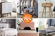 Spruce Up Your Space w/ this Collection from the Bedroom Furniture Sale! Shop Quality Pieces Under $200! Ft. Bedside Tables, Bed Bases & Heads + More