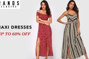 Dress Up w/ Up to 60% Off these On-Trend Maxi Dresses! Shop the ChicGal Floral Off Shoulder Dress, Rachel Pally Black High Split Tie Dress & More