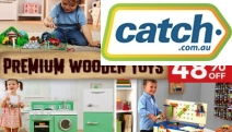 Let Your Little Ones Enjoy Hours of Fun with this Range of Kids Wooden Toys! Get Up to 48% Off Wooden Kitchen, Wooden Workbench w/ Tools & More