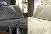 Sophisticated Hotel Style at Unbeatable Prices w/ Luxury Cotton-Rich Bedlinen! 1000TC Sheet Sets Just $69 for Queen or King. Upgrade for 1200TC