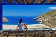 ANDROS ISLAND, GREECE Stunning 4-Night Mediterranean Glamour at Aegea Blue Cycladic Resort! Self-Contained Suite for 2 w/ Nightly 3-Course Dinner & More