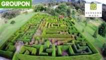 Enjoy a Fun-Filled Day w/ Unlimited Access to Attractions @ Hedgend Maze! Incl. Access to 1.2km Maze! Ft. Mini Golf, Frog Hollow Farm & More