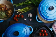 Classica Cast Iron Cookware that Lasts a Lifetime! Incl. Roasting Pans, Dutch Ovens, Grill Pans & More. Features Heavy-Duty Enamel Finish