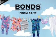 Dress Your Adorable Little One in Super Cute Bonds Apparel! Ft. Baby & Kids Clothing from $9.99! Ft. Leggings, Tees, Underwear, Rib Zippies & More