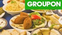 Savour a True Middle Eastern Banquet w/ Wine at Almustafa! Think Hummus, Chicken Mansaf, Kafta w/ Tomatoes & Rice, Fried Potato w/ Coriander & More