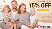 Get the Family Covered in Adorable Fashion with 15% Off Family Day Sale from PatPat! Family Matching Shirts, Mommy & Me Dresses + More. Code FAM15