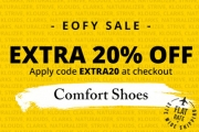 Don't Be a Heel, Snap Up 20% Off Already Reduced Comfort Shoes w/ Code EXTRA20! Shop Shoes for the Whole Family Incl. Naturalizer, Hush Puppies & More
