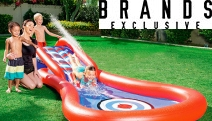Splash Out this Summer w/ this Range of Pool Inflatables! Shop Loungers, Floaties, Pools, Rapid Rider Islands, Snorkel Sets & More in Fun Designs