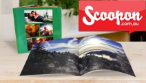 Showcase Your Fave Memories w/ a Personalised Photobook! Choice of Sizes, Either Softcover or Hardcover. Ft. Free Intuitive Software. From $2, Plus P&H
