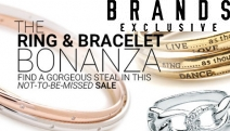 Find a Piece You Love w/ the Ring & Bracelet Bonanza Sale @ Brands Exclusive! Feat. An Array of Modern & Statement Pieces Incl. Leather, Swarovski & More
