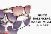Protect Your Eyes in Style with the Designer Sunglasses Sale! Shop a Range of Cool Styles from Brands Incl. Balenciaga, Guess, Karen Millen & More