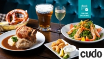 Treat Your Friend to a Hearty Bavarian Feast with Wine or Beer @ Bavarian Haus in Surfers Paradise! Think Crispy Pork Knuckle, Fish and Chips + More