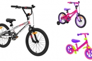 Encourage Time Outside for Your Little Ones w/ this Range of Kids' Bike & Trike Sale! Shop Mountain Bikes, Paw Patrol Trikes, BMX Bikes & More