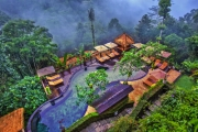 UBUD, BALI 3N Secluded Tranquility @ Nandini Jungle Resort & Spa Bali! Jungle View Villa for 2 w/ Daily Yoga, Dining Experiences, Massages & More