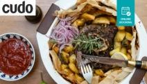 Send Your Tastebuds to Greece w/ a 'Trust the Chef' Greek Feast & Wine @ Georgia's Koutouki, Leichhardt! Dips w/ Pita Bread, Slow Cooked Lamb & More