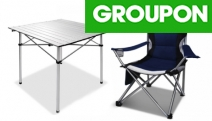 Enjoy Your Time Outdoors with a Camping Table or Chairs in Choice of Design from Only $39! Portable, Lightweight & Folds for Easy Storage