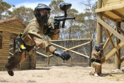 Have a Splattering Good Time at Delta Force Paintball! Get an All-Day Paintball Game Incl. 100 Paint Balls for Just $10! 7 Locations Australia-Wide