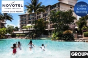 CAIRNS Tropical Family Break w/ Up to 4-Night Stay for a Family of 4 at Novotel Cairns Oasis Resort! Late Check Out, Cocktail & Spa Vouchers and More
