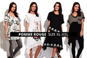 Fashion Forward & Flattering, Plus Size French Brand Pomme Rouge is Your Go-to! Shop Elegant Tops, Dresses & More for the Office to the Weekend