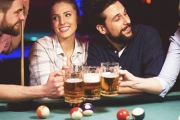 Cue Up Some Fun w/ 2-Hour Pool Table Hire for Two w/ a Beer Each @ VS Sports Bar in the CBD for Just $18! Upgrade for 4 People or 3 Hours of Fun