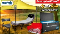 Love the Outdoors? Shop the New Range of OZtrail & Companion Camping Essentials! Save Up to 60% Off Portable Fridge/Freezers, Camping Tents & More