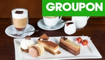Chocolate Lovers Rejoice w/ a Decadent Lindt Chocolate Cafe Cake Platter w/ Hot Drinks for Two for Only $19.99! Available at 2 Sydney Locations