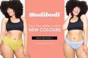 Ladies, Don't Let Leaks Get You Down with Modibodi! Shop Your Favourite Cuts in Brand New Colours! Leak-Proof Underwear & Apparel for Periods & More