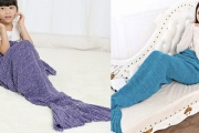 Under the Sea! Make Play Time, Nap Time or Reading Time More Fun w/ a Cute Mermaid Tail Blanket! Shop 6 Fun Colours in Both Adult & Child Sizes