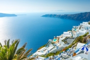 GREEK ISLANDS w/ FLIGHTS Holiday like the Gods w/ a 14-Day Island-Hopping Package! Ft. Athens, Mykonos, Santorini, Paros, the Acropolis & More