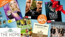 Gift the Movie-Lover in Your Life w/ Bestselling DVDs & Boxsets For Christmas! Enjoy Up to 50% Off a Range of Genres Ft. Comedy, Drama, Fiction & More
