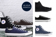 Who Doesn't Love their Chucks?! Stock Up on the Classic Converse Chuck Taylors Low & High Tops! Shop Colours Black, Navy, White & More from $69