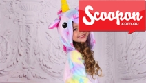 Who Said Unicorns Don't Exist?! Treat Your Little One to a Personalised Kids' Unicorn Onesie! Customise with Your Child's Name in a Range of Designs