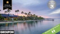 ALL INCLUSIVE FIJI W/ FLIGHTS 5-Night Stay @ The Warwick Fiji Coral Coast! Brekkie, WiFi & More. Kids u/12 Stay & Eat for Free + Kids Club Access