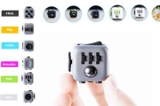 Keep Fidgeting Fingers Busy w/ My Fidget Cube! Buttons, Switches, Clickers & More, Perfect for People w/ a Short Attention Span. Great Gift Idea