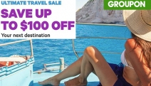 Escape the Grind w/ Groupon's Ultimate Travel Sale & Save Up to $100 Off w/ Code BREAK! Choose from Selected National & International Destinations