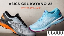 Enjoy a Superior Running Experience with Up to 38% Off ASICS Gel Kayano 25! Ft. Integrated Panel on the Medial for Unparalleled Comfort & Support